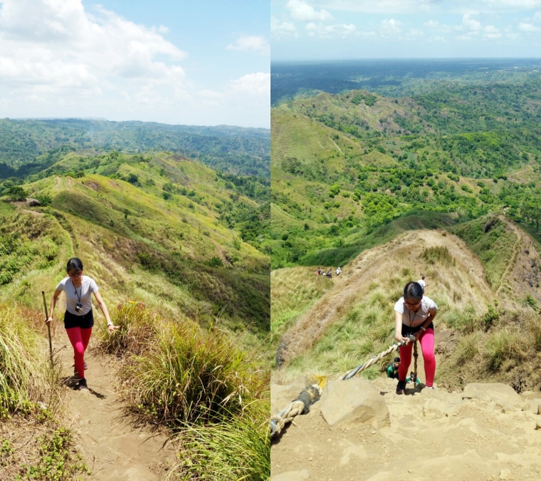 Climb to camp 8