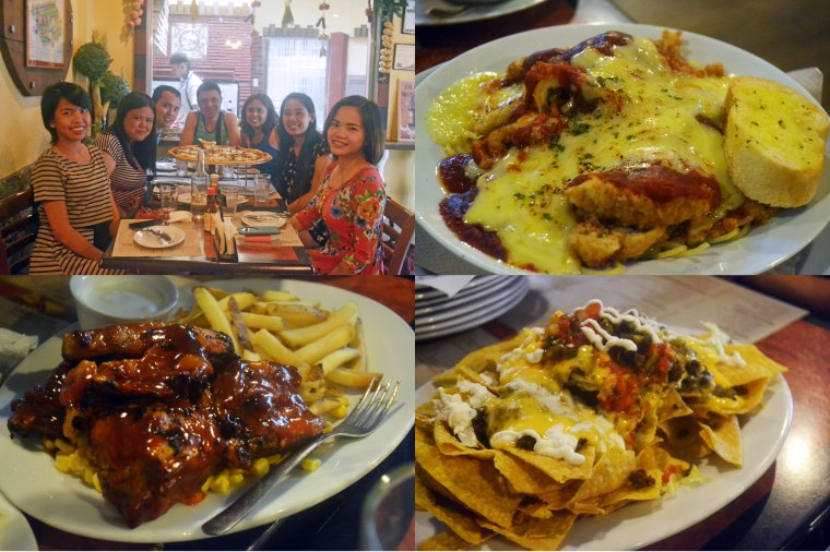 """Some of the food we ate. Keyword here is """"some"""""""
